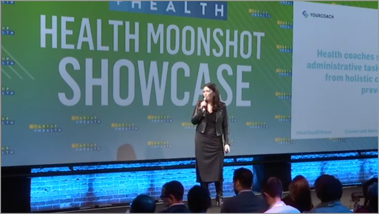Health Moonshot Showcase 2019: Marina Borukhovich, YourCoach